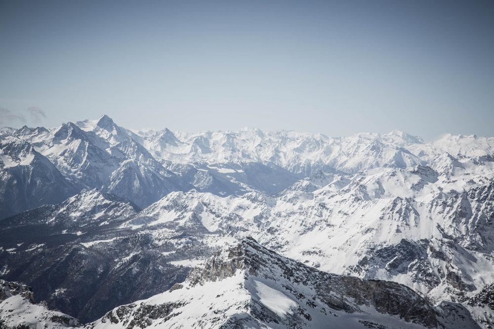 Unvergleichliches Panorama vom Furgsattel - © Skiinfo | Sebastian Lindemeyer