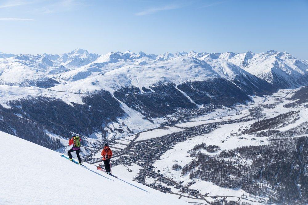 Skialpinizm w Livigno - © Samuel Confortola