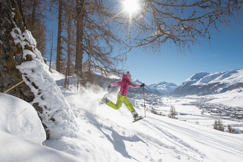 Wędrówki na rakietach śnieżnych w Livigno - © Roby Trab