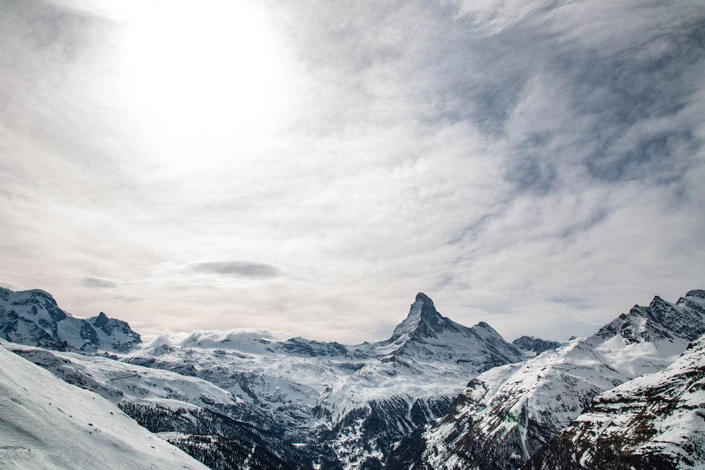 Blick auf das Matterhorn - © Skiinfo | Sebastian Lindemeyer