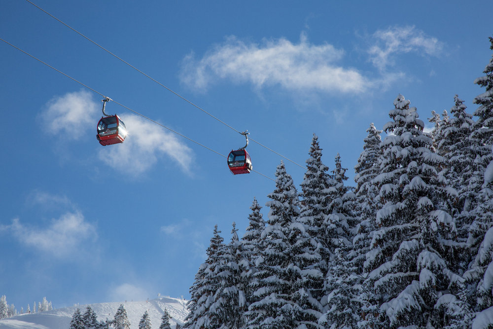 Neve fresca a Kitzbühel 13.1.19 - © Skiinfo