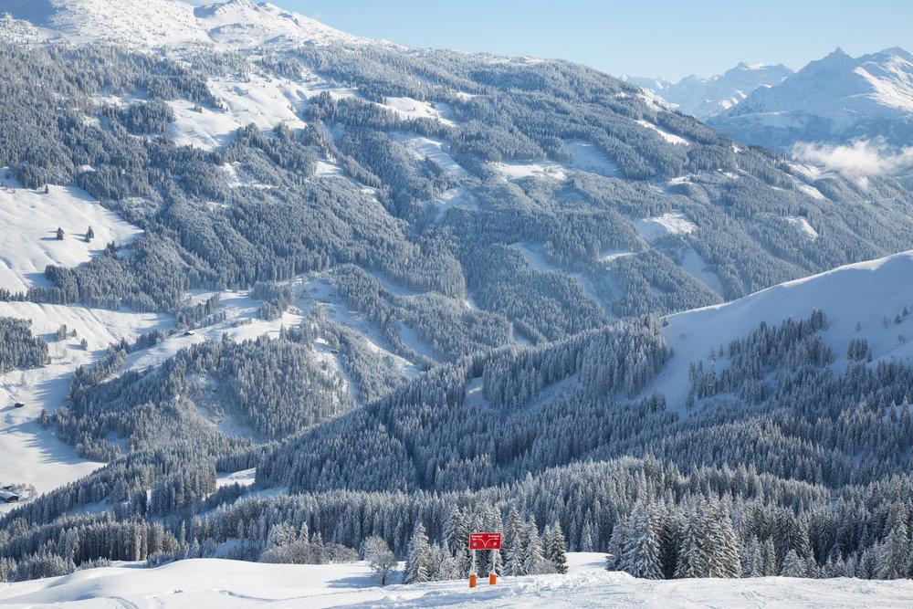 Perfektes Winterwetter in Kitzbühel (Januar 2019) - © Skiinfo
