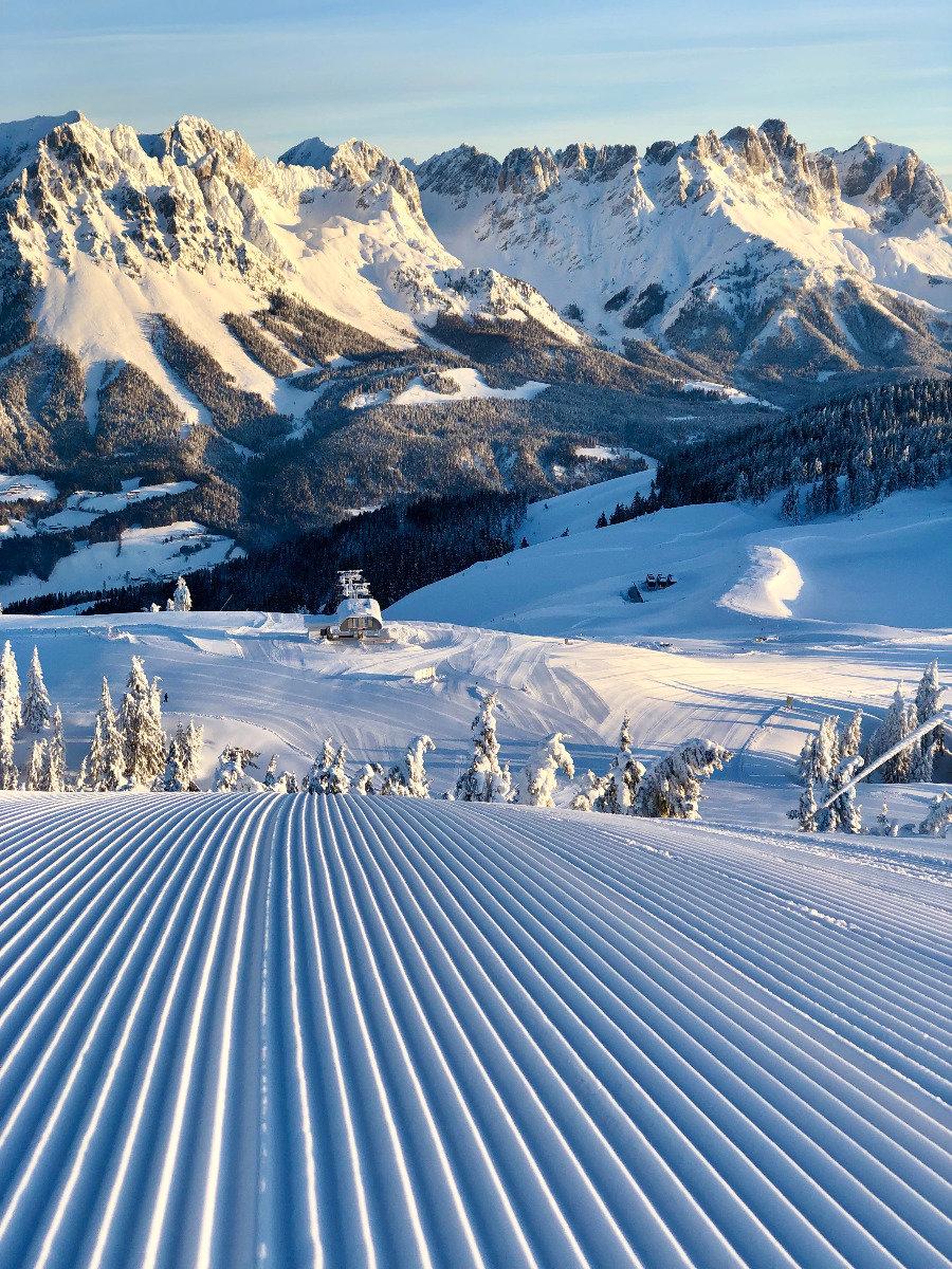 Impressionen aus der SkiWelt Wilder Kaiser-Brixental (Januar 2019) - © Anita Baumgartner