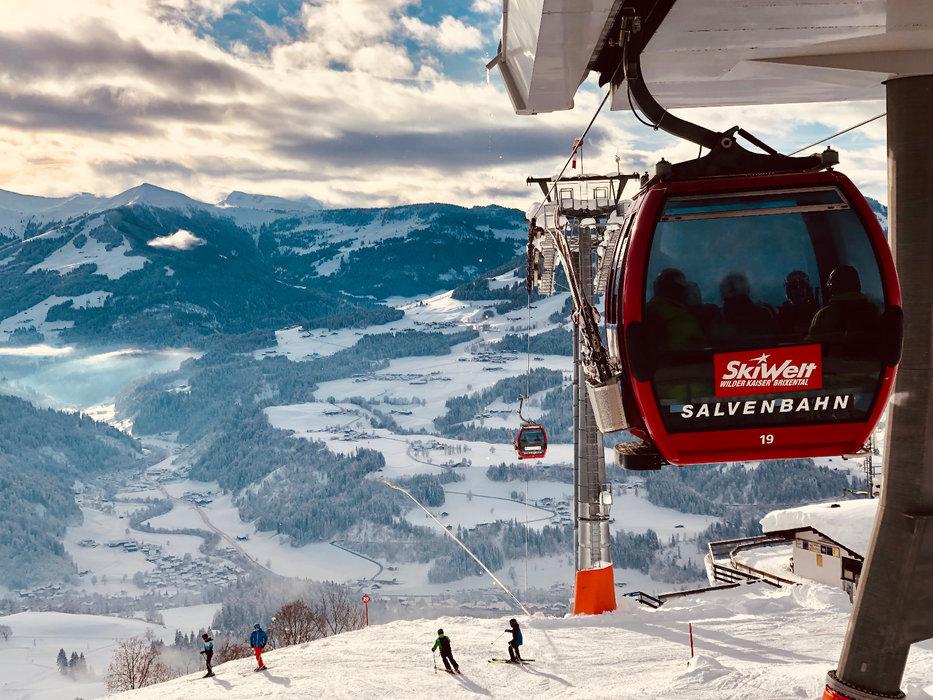 Die Salvenbahn der SkiWelt - © Anita Baumgartner