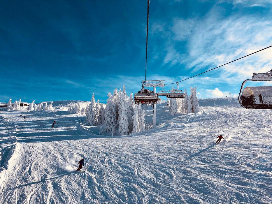 Eindrücke von den Pisten der SkiWelt - © Anita Baumgartner