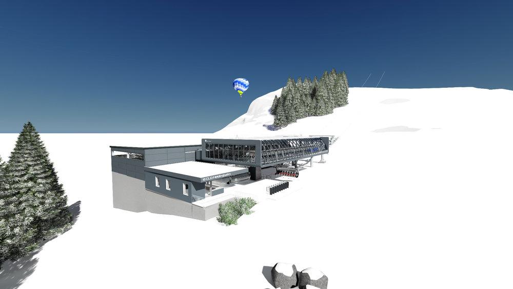 Die neue Fleidingbahn in der SkiWelt Westendorf - © SkiWelt Wilder Kaiser - Brixental