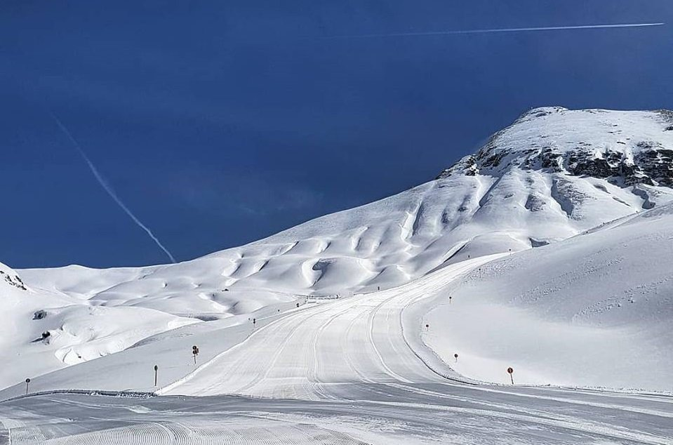 Sunshine and fresh snow in Lech-Zuers (March 17th, 2019) - © Lech-Zuers/Facebook