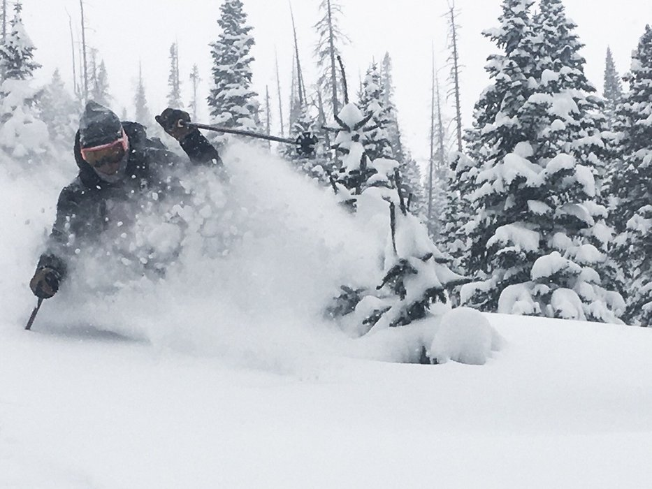 More than 30 inches dropped on Wolf Creek Ski Area over 72 hours.  - © Eric Deitemeyer courtesy of Wolf Creek Ski Area