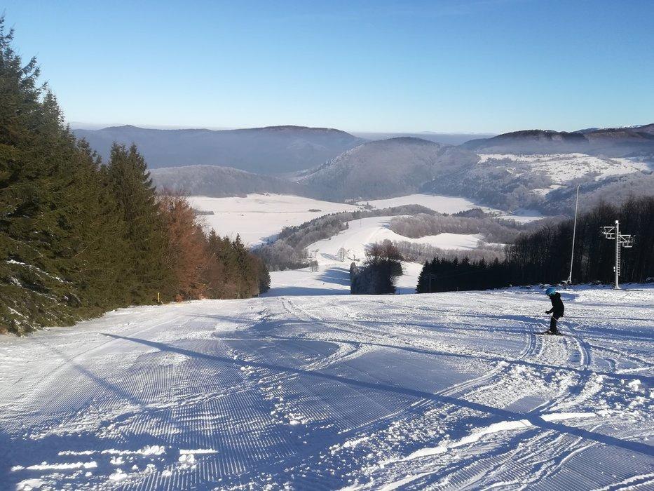 Čičmany, sjezdovka č. 3 - 25.1.2020 - © facebook | Ski centrum Javorinka Čimany