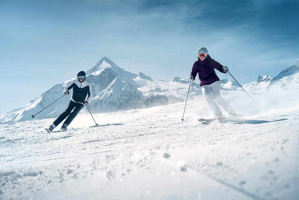 Skifahren am Maiskogel - © Kitzsteinhorn - Gletscherbahnen Kaprun AG