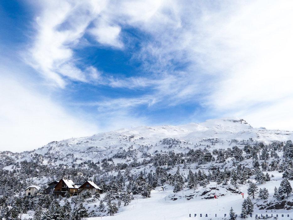 Chalets à proximité imédiate des pistes de ski de la Pierre Saint Martin - © EPSA / Domaine de la Pierre Saint Martin