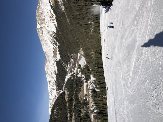 Arapahoe Basin Ski Area - Sunny day. Limited trails, but kept me satisfied for today.  - © Jason Herndon