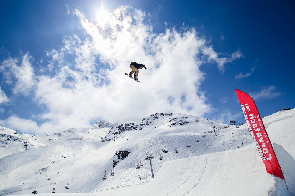 Snowpark Corvatsch  - © Fabian Gattlen