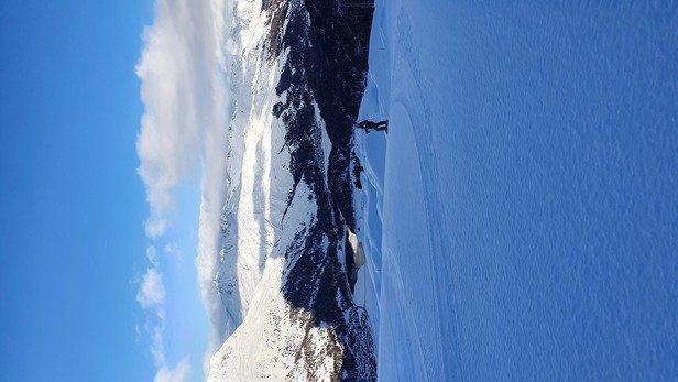 Corvatsch - Sils - Silvaplana - Giornata splendida freddo giusto gente poco neve SPLENDIDA - © Edo Reca