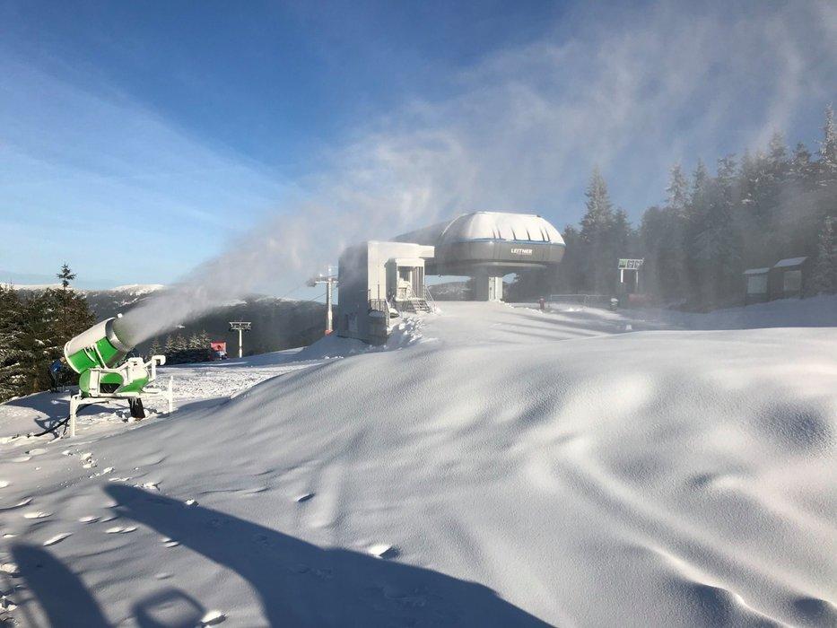 Lyžařská sezóna 2019/2020 začíná ve Skiareálu Špindlerův Mlýn v pátek 13. prosince! - © facebook | Skiareál Špindlerův Mlýn