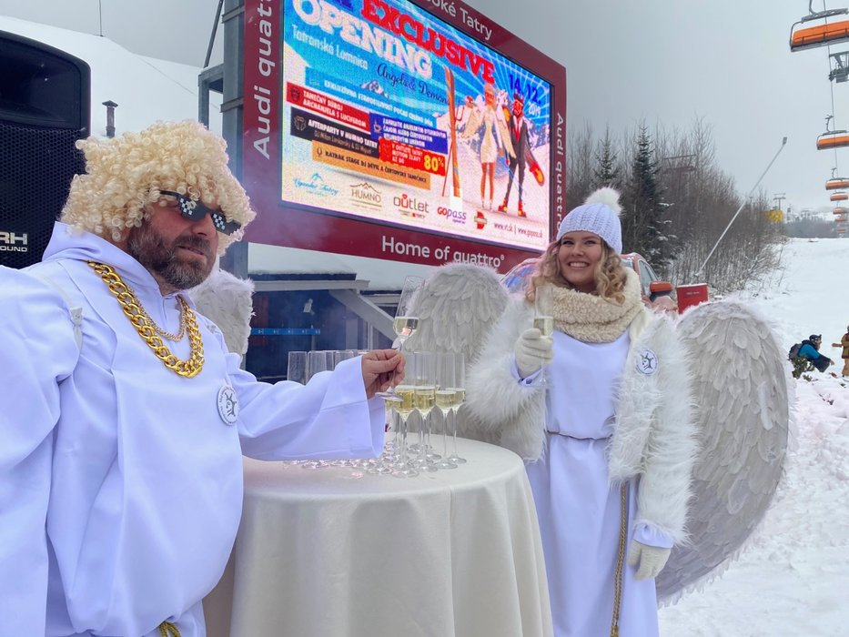 Lyžiarska sezóna v Tatranskej Lomnici je odštartovaná! - © TMR, a.s.