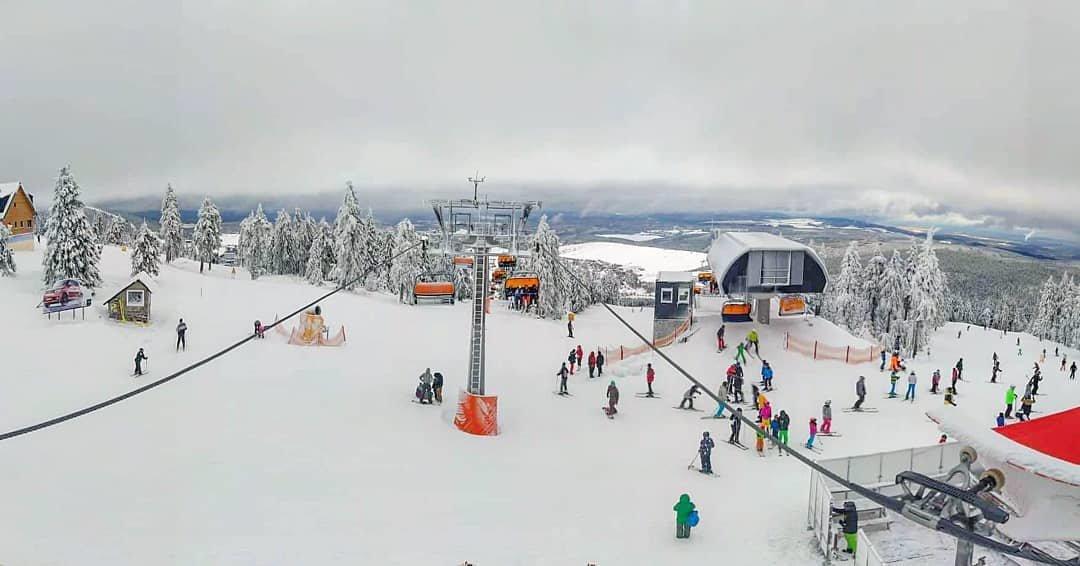 Skiareál Klínovec, 26.12.2019 - © Lukáš Ledvinka - © facebook | Skiareál Klínovec / Lukáš Ledvinka