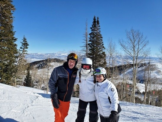 Park City - Blue sky day ...no crowds... great packed snow. - © Philip Perlman