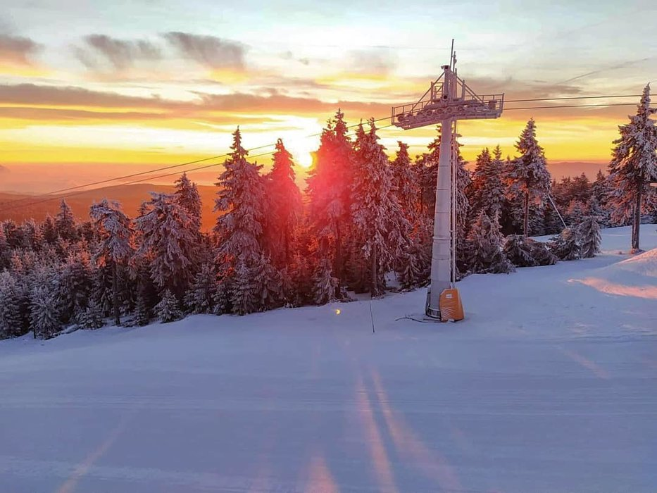 Klínovec, CZE 14.1.2020 - © facebook | Skiareál Klínovec