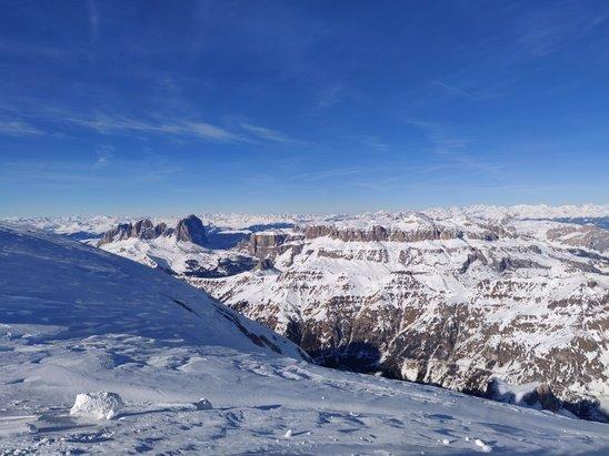 Alta Badia  - Amazing. Conditions are great.  - © David Ashcroft