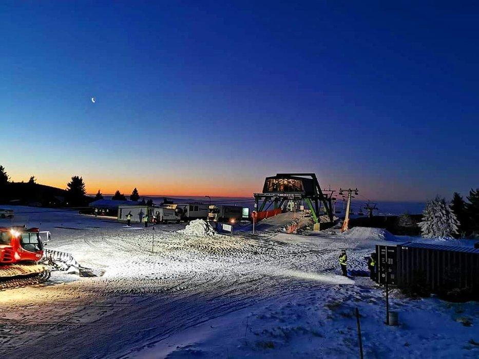 Skiareál Klínovec 21.1.2020 - © facebook | Skiareál Klínovec