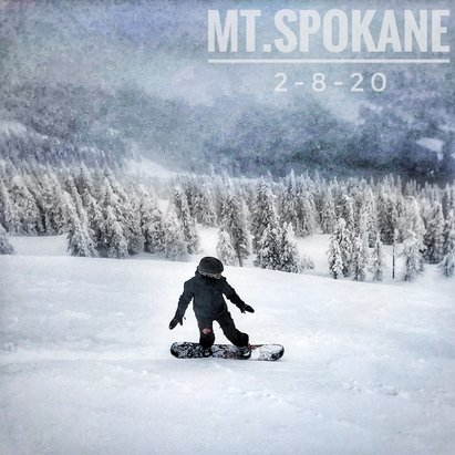Mt. Spokane Ski and Snowboard Park - Great day keeping it local. Awesome conditions in our own backyard! - © Kirk Reichard