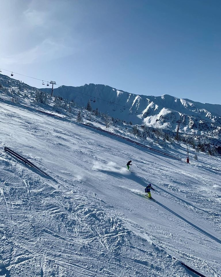 Veľmi dobré snehové podmienky v Jasnej - sobota 8.2.2020 - © TMR, a.s.