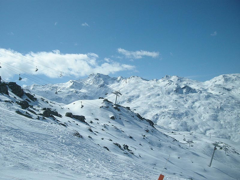 Skifahren Les Menuires 2012 - © Markus Hahn