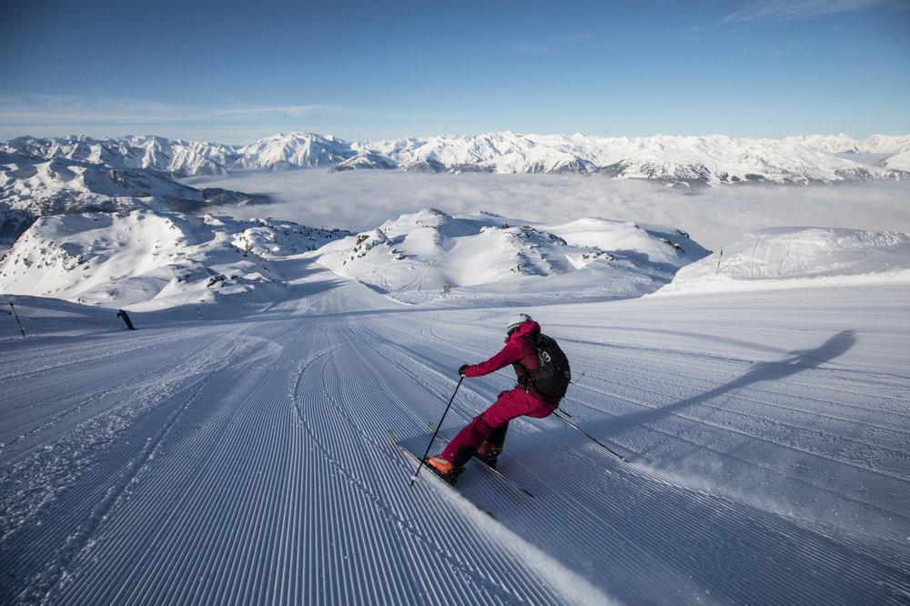 Skifahren in der Zillertal Arena - © Zillertal Arena