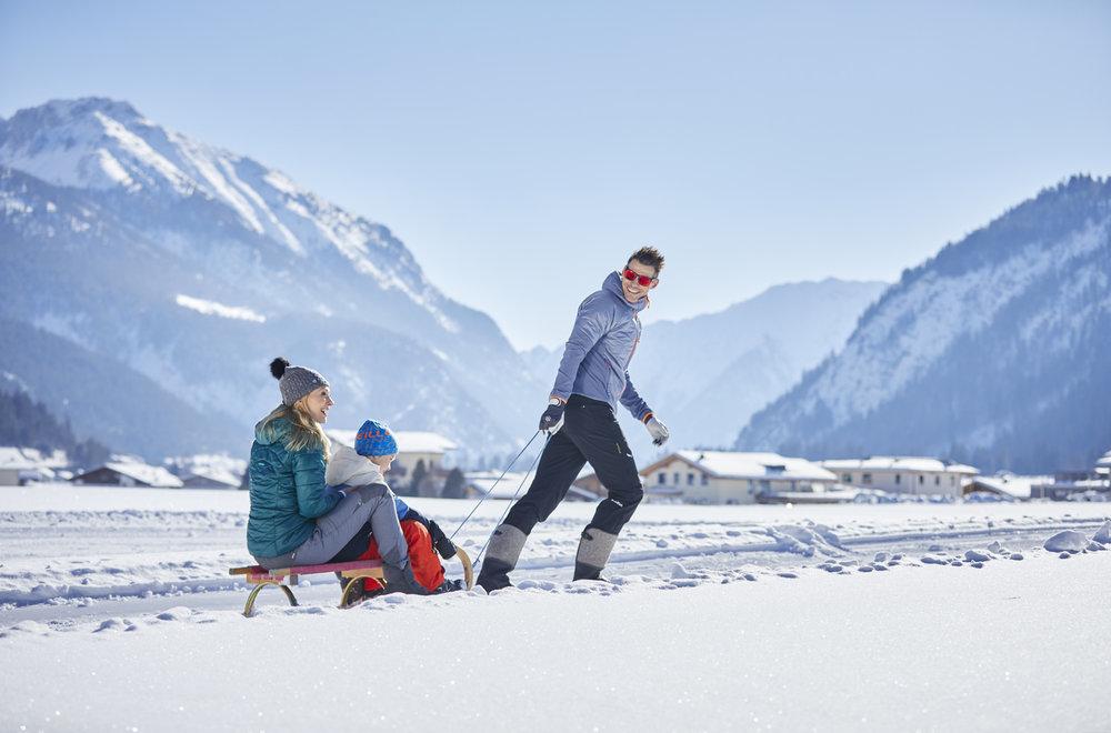 Winterspaß im Skigebiet Christlum in Achensee - © Sporthotel Achensee