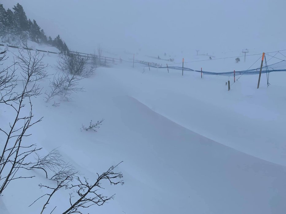 Fantastic snow in Cairngorm Mountain, 6.2.21 - © Cairngorm Mountain/Facebook