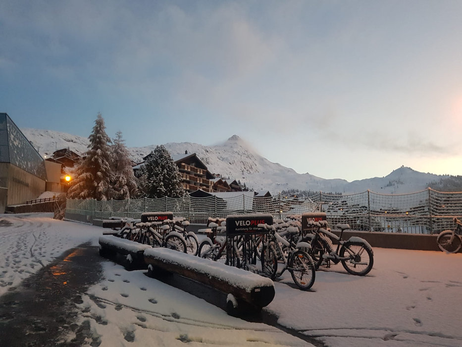 Erster Schnee in der Aletsch Arena (SUI) - © Aletsch Arena