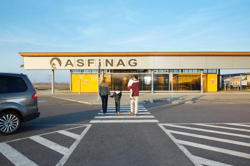 Rastplatz in Österreich - © Asfinag