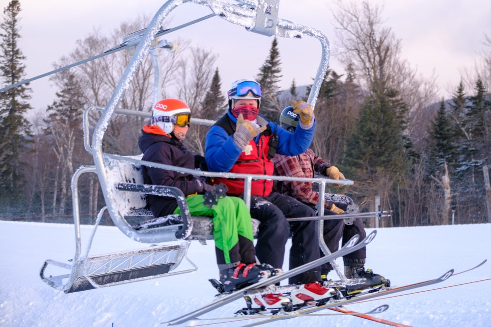Maine's Saddleback welcomes families re-opening day - © Fred Beyer/Maine Public