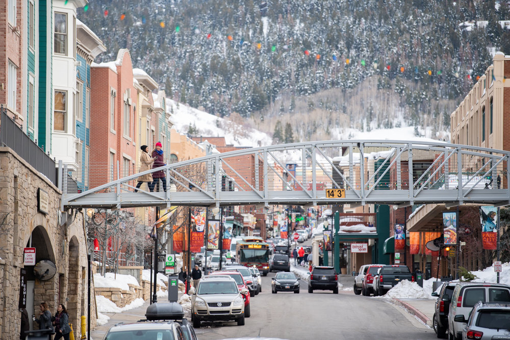 Ski and stroll in the same day in Park City. - © Mike Schirf