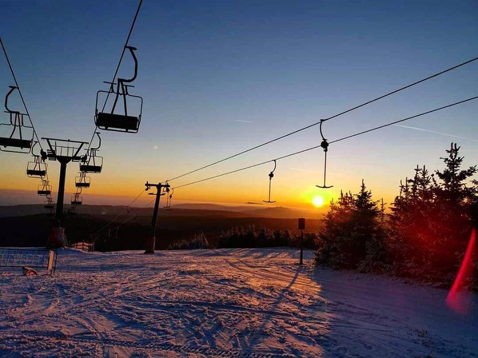 Skiareál Klínovec 23.1.2020 - © facebook | Skiareál Klínovec