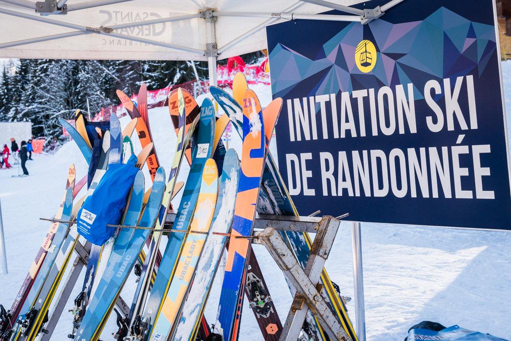 Le White week-end de Saint Gervais est l'occasion idéale pour s'essayer au ski de raondonnée... - © STBMA