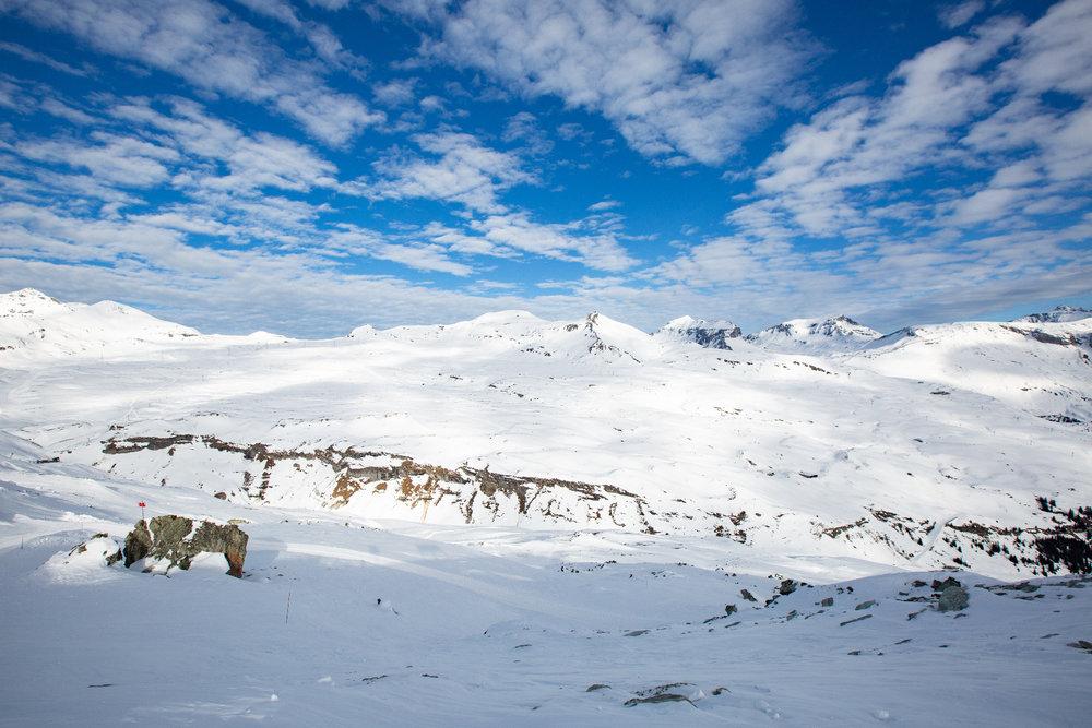 Výhľad z Crap Sogn Gion - © Skiinfo | Sebastian Lindemeyer