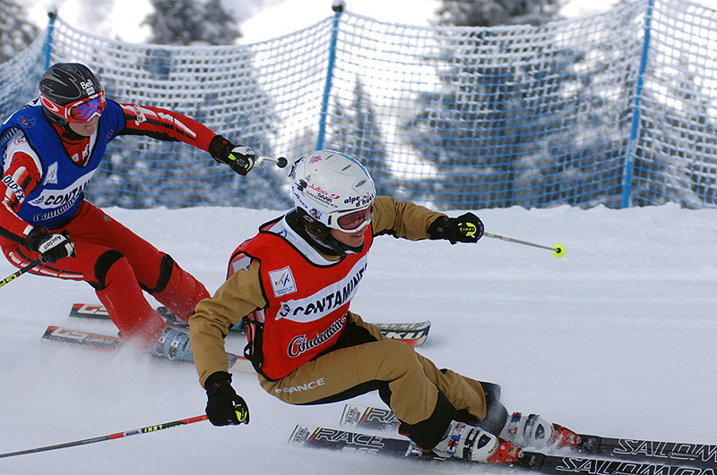 In Action - © Les Contamines Montjoie/NUTS JP Noisillier