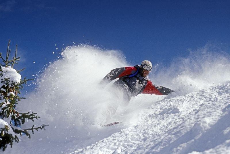 Plenty of powder for snowboarders in Telluride - © Telluride