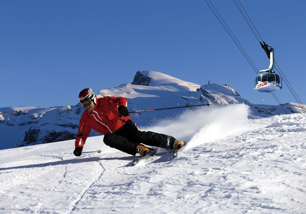 Autumn skiing in Engelberg - © Engelberg Tourism