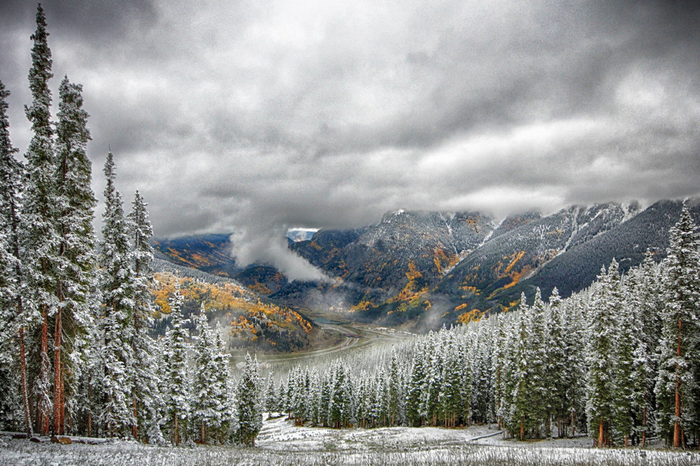 Copper Mountain Snowfall in September - © Tripp Fay