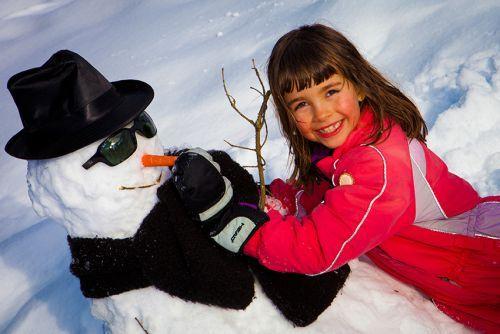 Ski en famille à Noël à La Clusaz