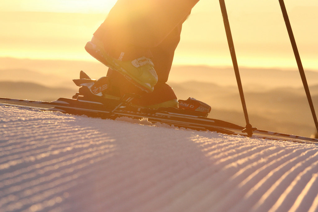 Fresh tracks on the corduroy are sublime. Photo Courtesy of Mont Tremblant, flickr.