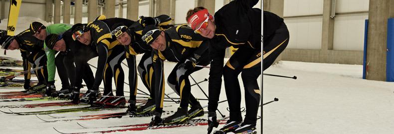Testing ski's in Oberhof - © xc-ski.de