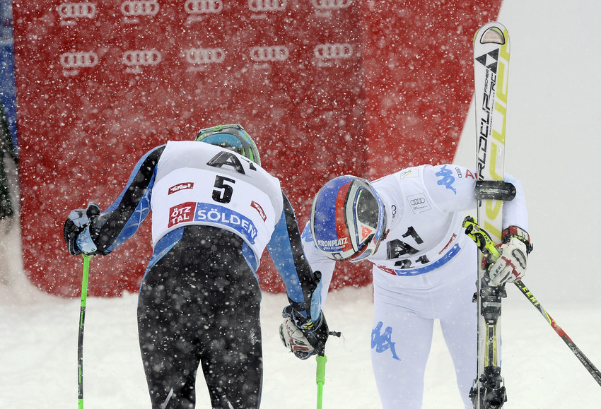 Mölgg and Ligety - © Alain Grosclaude/AGENCE ZOOM