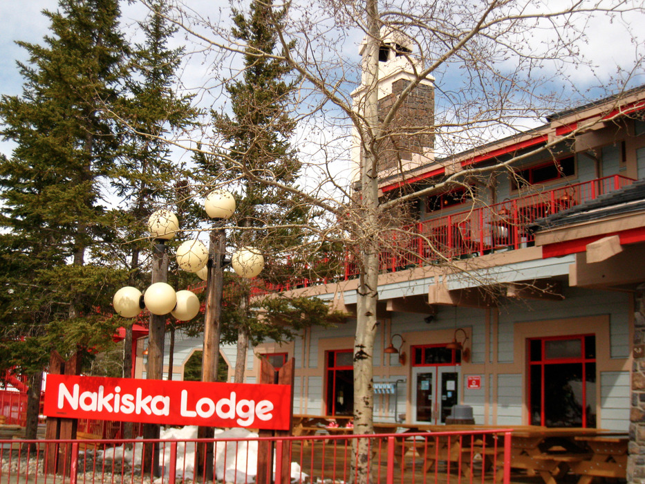 Nakiska Lodge is located at the base area. Photo by Becky Lomax. - ©Becky Lomax