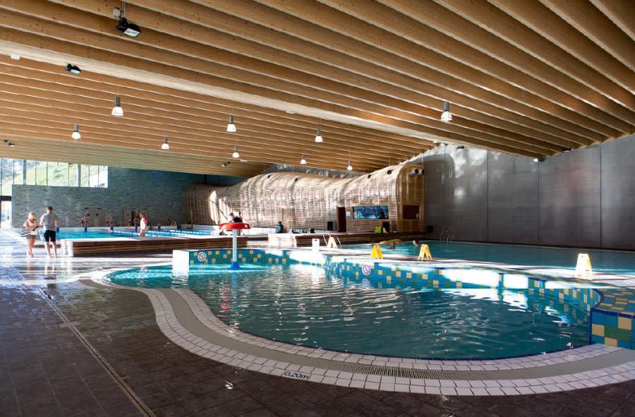 Nouvel espace aquatique de Morzine - © OT de Morzine