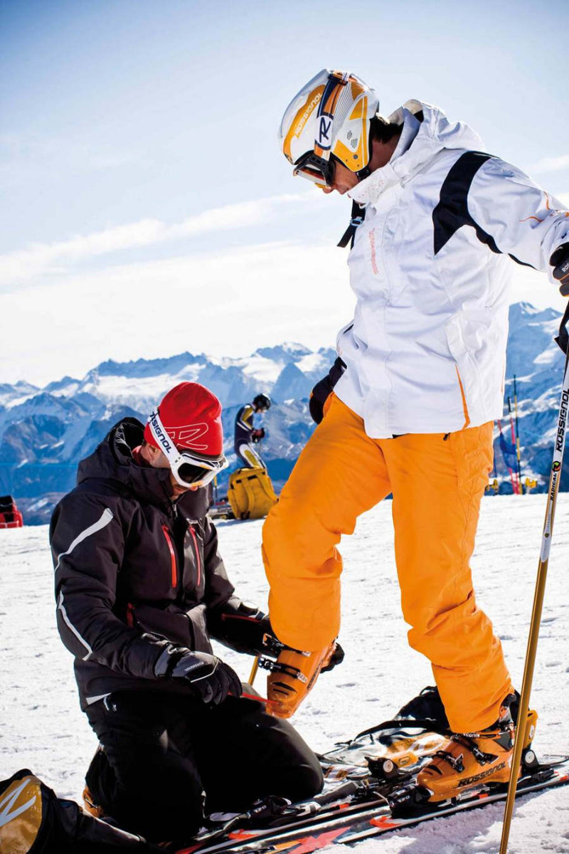 Pour skier en toute tranquilité, pensez à vérifier le réglage de vos fixations - © Stefcande.com