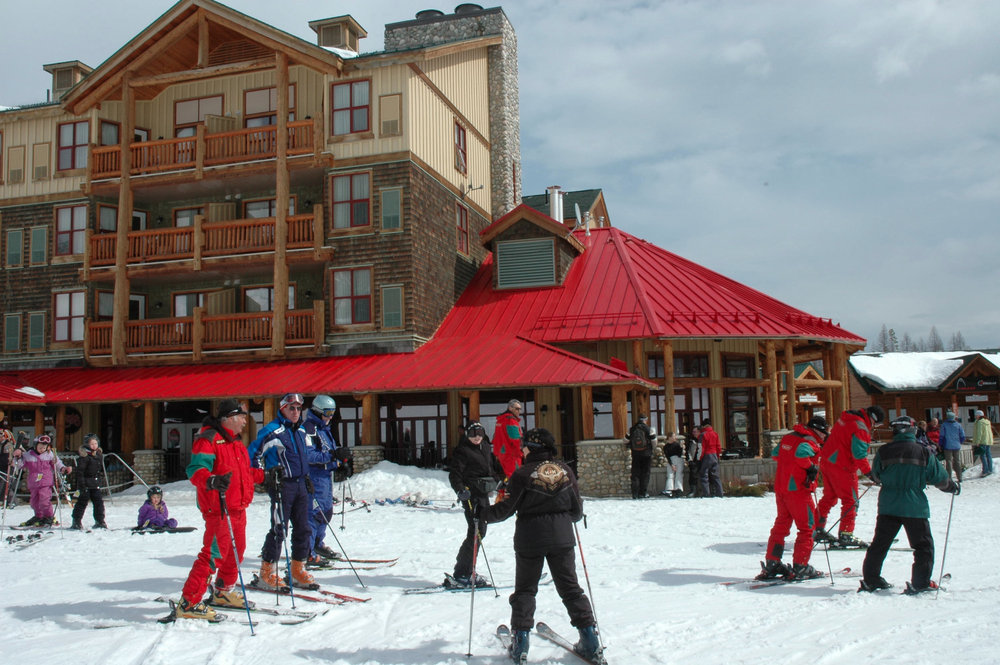 Trickle Creek Lodge at Kimberley Mountain Resort. Photo by Becky Lomax. - © Becky Lomax